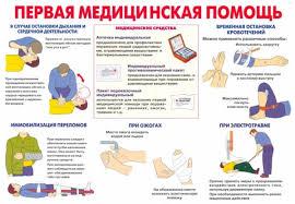 курс первой медицинской помощи в Киеве